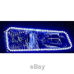 03-06 Chevy Silverado Multi-Color Changing LED RGB Headlight Halo Ring M7 Set