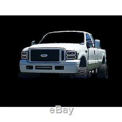 05-07 Ford F-250 Multi-Color Changing LED RGB SMD Headlight Halo Rings BLUETOOTH