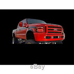 05-07 Ford F-250 Multi-Color Changing Shift LED RGB Headlight Halo Ring M7 Set