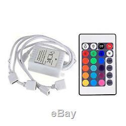 14-16 Chevy Silverado Multi-Color Changing LED RGB SMD Headlight Halo Ring Set