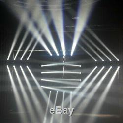 150W RGBW LED Moving 4-Head Stage Light DMX-512 DJ Color Change Sound Active