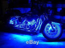 18 Color Change Led V Star 1100 Motorcycle 16pc Motorcycle Led Neon Light Kit