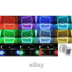 2009-2014 Ford F-150 Multi-Color Changing Shift LED RGB Headlight Halo Ring Set