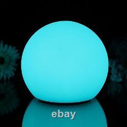 20cm Waterproof Floating Outdoor Mood Ball Light Sphere Garden LED Lamp