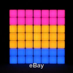 2x LEDJ Mood Bar Retro Light Box Effect Colour Changing LED Panel Disco Lighting
