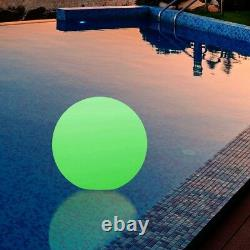 30cm LED Orb Waterproof Floating Ball Mood Lighting Pool Event by PK Green