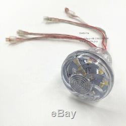 40x Cabochon amusments DMX RGBW Pixel led lights 60mm 18LEDs SMD 5050 DC24V