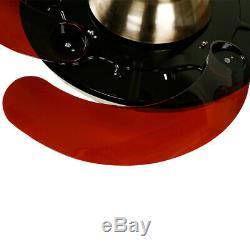 42 Classical Retractable Ceiling Fan Light 3 Color Change LED Chandelier Remote