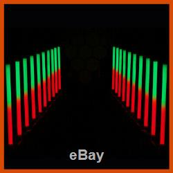 4 x Equinox Pulse Tube LED Rainbow Colour Changing DJ Disco Party Light Effect