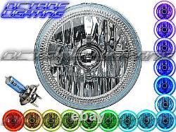 5-3/4 Bluetooth Cell Phone RGB SMD Color Change LED Halo Angel Eye Headlights
