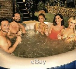 6 Person Hot Tub with Colour Change LED Lights CleverSpa Belize