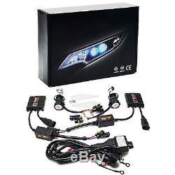 7x6 RGB LED Plasma COB Color Change Halo Shift Angel Eye 6k 6000k HID Headlights