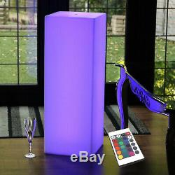 80cm Large Modern Cordless LED Floor Lamp Dimmable RGB Mood Lighting by PK Green