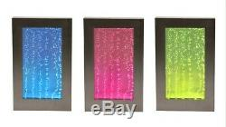 95cm Hanging Bubble Water Wall, with Colour Changing LED Lights Indoor Use