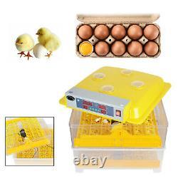 96 Digital Egg Incubator Temperature Control Hatcher Automatic Turning Chicken