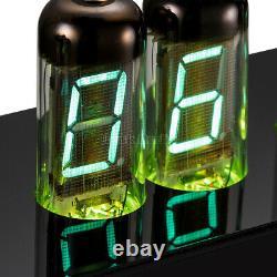 Assembled IV-11(-11) Nixie VFD Tube Clock Vintage LED Digital Alarm Desk Clock