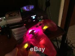 BUNDLEColor Changing LEDs Nintendo N64 & GameCube (includes Games/Controllers)
