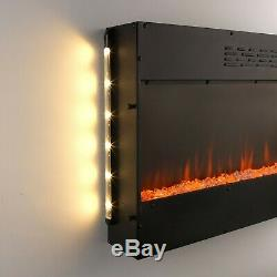 Beldray Porto LED Electric Colour Changing Wall Fire, 1500 W
