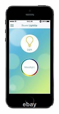 Beurer TL100 2-in-1 Brightlight and Moodlight Daylight Lamp With Bluetooth