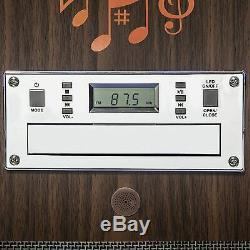 Bluetooth Jukebox Floorstanding Color Changing Led Display Music Player Fm Radio