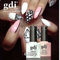 Brand New Classic gdi Nails, UV/LED Soak Off Gel Nail Polish, High Quality UV Gel