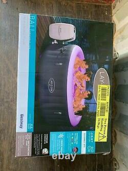 Brand New Lay-Z-Spa BALI 4 Person LED Hot Tub NEXT DAY DELIVERY