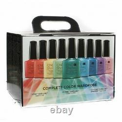 CND Shellac Rainbow Collection Kit The Complete Color Wardrobe withFREE LED LAMP