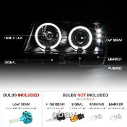 COLOR CHANGING LED BULB For 99-04 Jeep Grand Cherokee WJ WG LED Halo Headlight