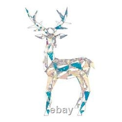 Color Changing Christmas Reindeer Outdoor Yard Decor Sparkling Holiday Sculpture