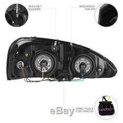Color Changing LED Low Beam 2004-2008 Pontiac Grand Prix Head Lights GXP GTP