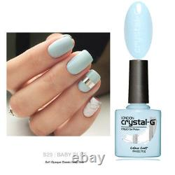 Crystal-G CGSS29 BABY BLUE Classic Hybrid UV LED Soak Off Gel Nail Polish UK