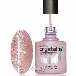 Crystal-G DIAMOND Range D16-PINK LOVE 8ml UV/LED Soak Off Gel Nail Polish