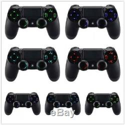 Custom PlayStation 4 Controller LED color changing buttons Wood PS4