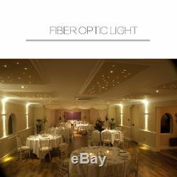 DMX 512 45W DMX LED Fiber Optic Light Star Ceiling Kit 400700835 PCS 5M Cable