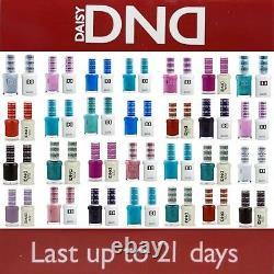 DND 400 640Daisy Soak Off Gel Polish Pick Your Color. 5oz LED/UV