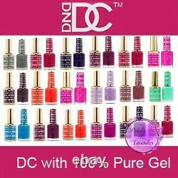DND GEL DC 001-144 AND 254-289.6oz LED/UV DC duo (List No. 2)