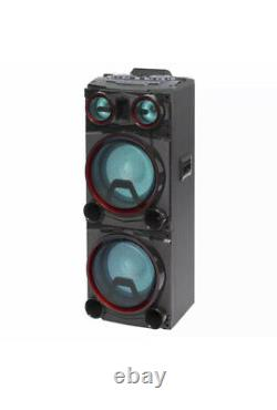 Daewoo 400W Bluetooth Subwoofer Party Color Changing LED Lights Speaker