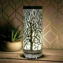 Desire LED Aroma Tree Cylinder Electric Lamp Wax Melt Oil Burner COLOUR CHANGING