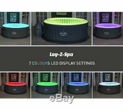 FREE FAST DELIVERY NEW Sealed Lay Z Spa Bali LED Hot Tub Summer Essential
