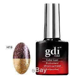 Gdi Nails, THERMAL COLOUR CHANGE H19-Golden Brownie UV/LED Soak Off Gel Polish