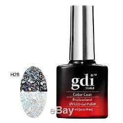 Gdi Nails, THERMAL COLOUR CHANGE H28-Majestic Crown UV/LED Soak Off Gel Polish