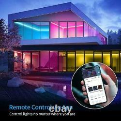 Govee LED Strip Lights 5m, Smart WiFi APP Control RGB Colour Changing Music Sync