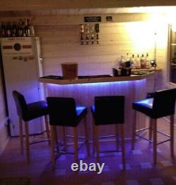 Home Drinks Corner Bar 5ft With Free LED colour Changing Lights