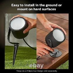 Hue Lily XL Latest bigger and brighter outdoor colour changing garden lights