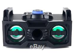 Intempo EE1834 Bluetooth Portable Party Speaker with Colour Changing LED Lights