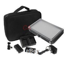 LED 312 DSLR Camera & Camcorder Video Light 312AS Bi-Color Changing Dimmable LED