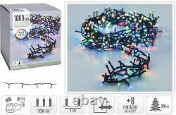 LED Fairy Lights RGB 1000 Multi Colour String Lights Christmas Tree Home Decor