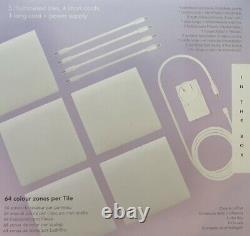 LIFX Tile Kit Colour Changing Wi-Fi Lighting 5 illuminated Tiles