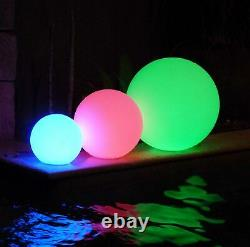 LOFTEK LED Light Up Ball 24-inch RGB Color Changing Glow Ball with Remote Co