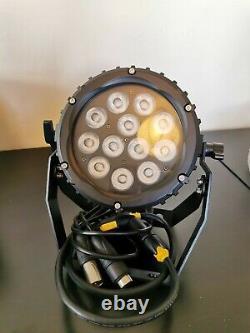 Lanta Aurora 12 TV3N LED PAR RGB IP66 colour changing external flood with 13A ca